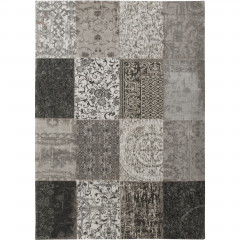 Patchwork Black and White 8101