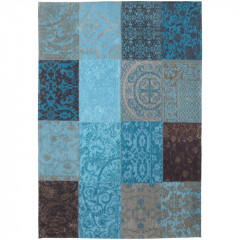 Patchwork Turquoise 8105