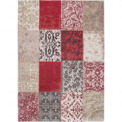 Patchwork Antwerp Red 8985